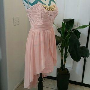 Dresses & Skirts - 2/$15 STRAPLESS DRESS PINKY PEACH JUNIOR MED